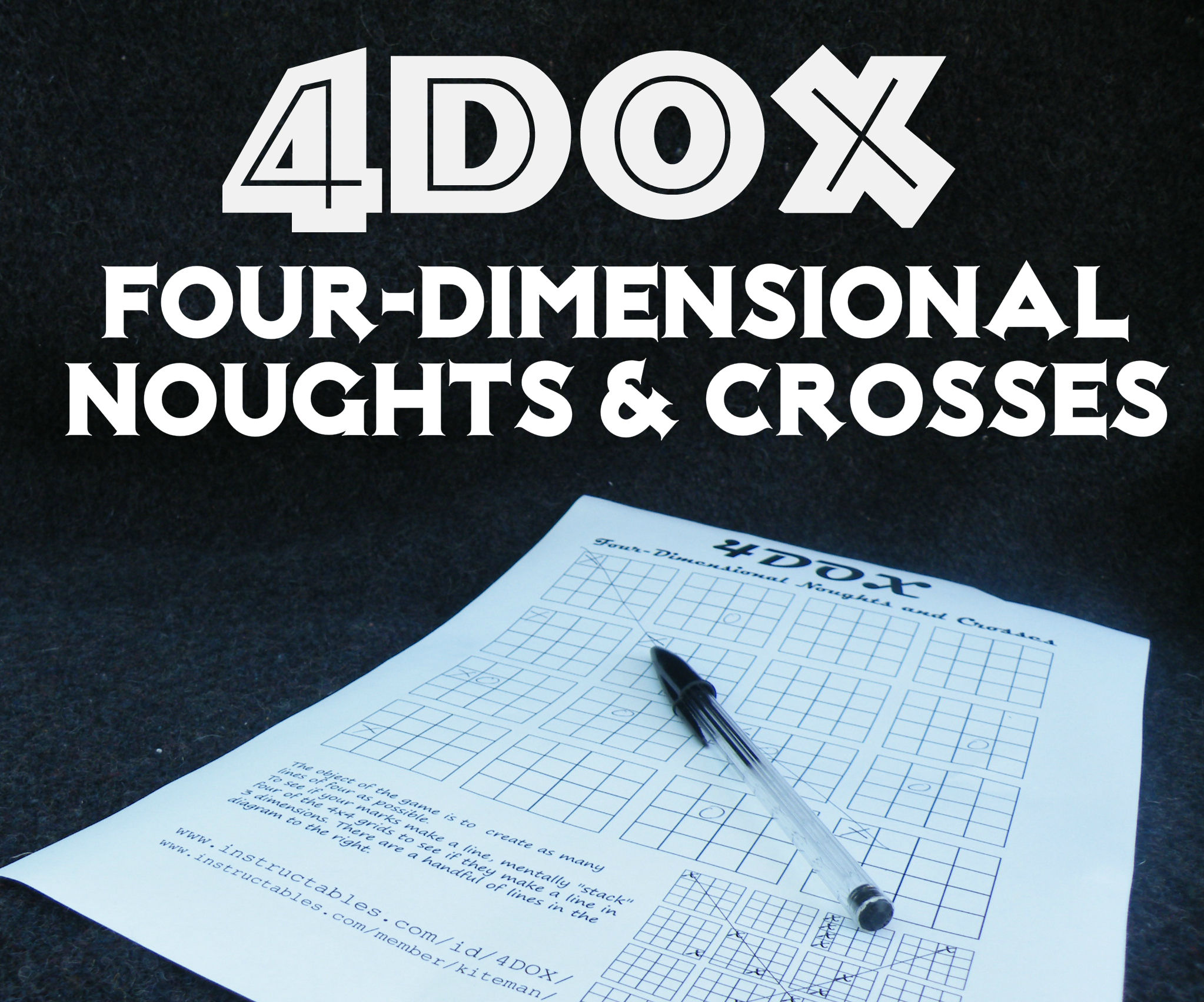 4DOX (Four-dimensional Noughts & Crosses)