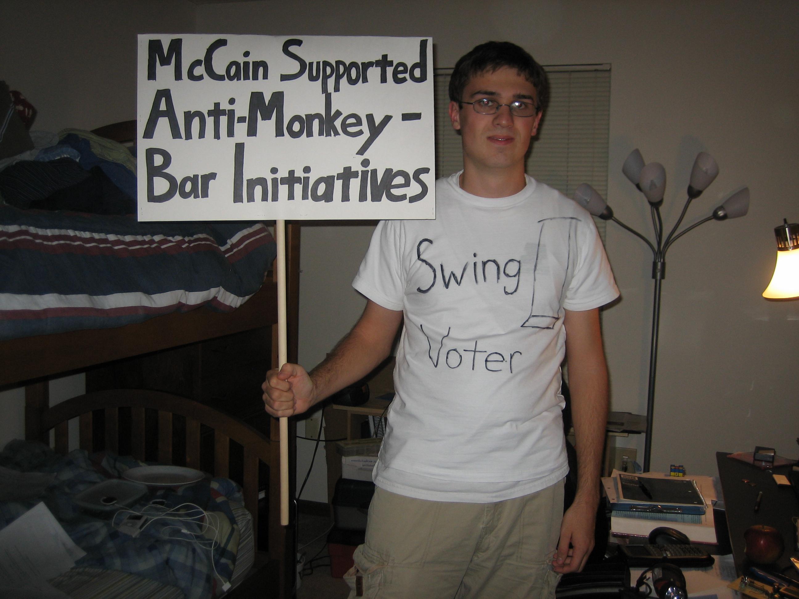 Halloween Costume: Swing Voter