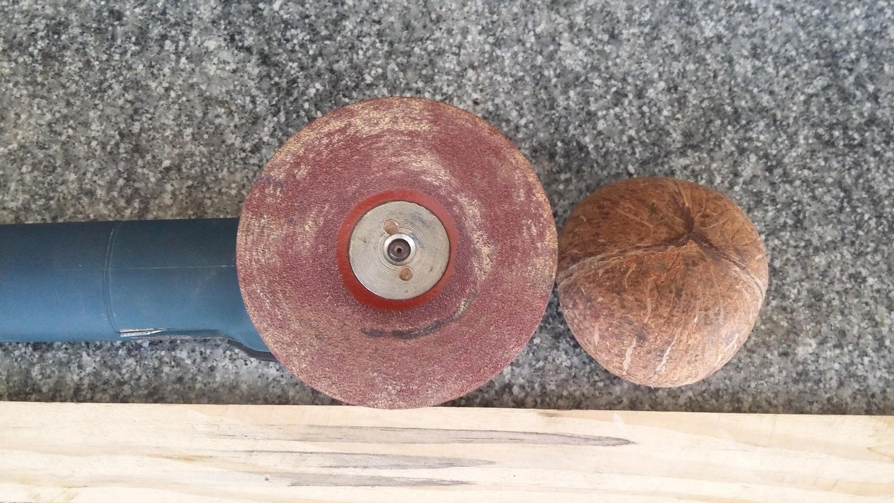 Prepare the Coconut  Shell