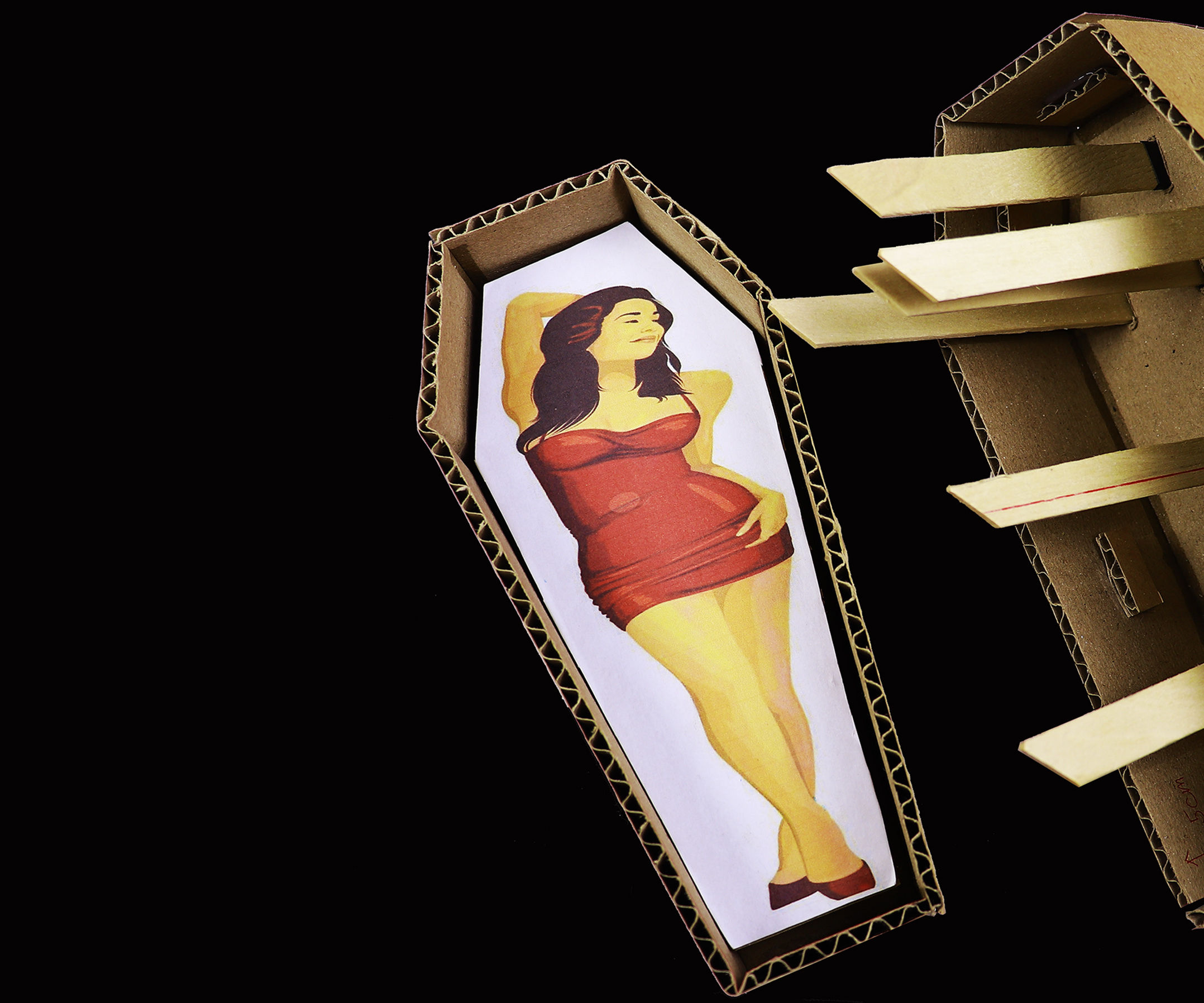 Make MAGIC Box and Girl From Cardboard