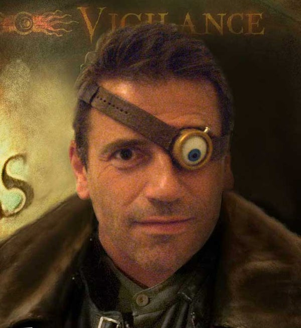 Make a Mad Eye Moody Mad Eye
