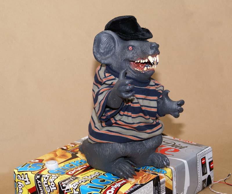 Animatronic Rat