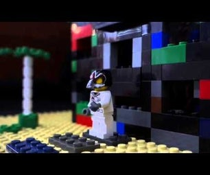 Build a Haunted House With Lego & Faya-nugget