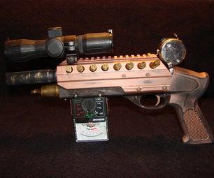 STEAM PUNK STUN GUN / 223 ZOMBIE ELIMINATOR.