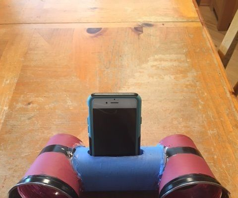 How to hack two cups and a tube to make an iphone speaker