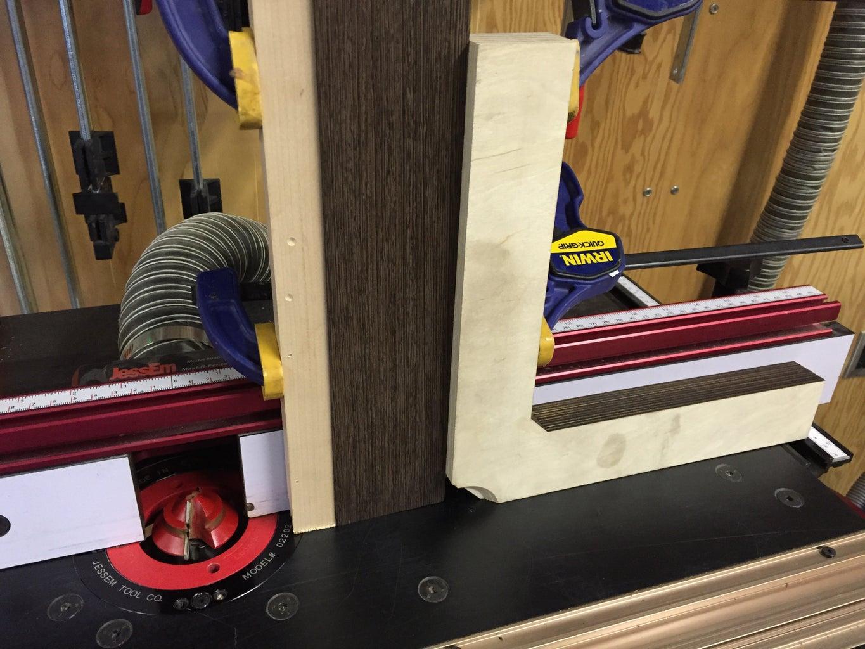 Large Light Panel Series #4-#5: Frame Miter Joints