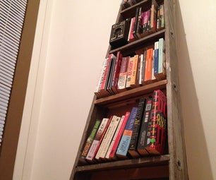 Step Ladder Bookshelf