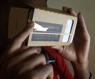 Copper Tape Touch Extension for Cardboard VR Kits