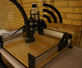 Control Your CNC Over Wi-Fi