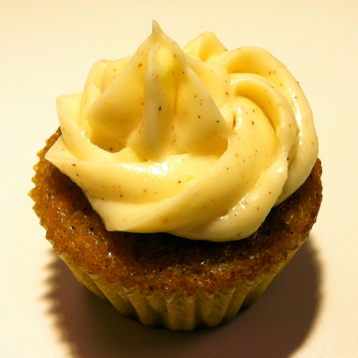 Mini Carrot Cupcakes with Spiced Cream Cheese Frosting