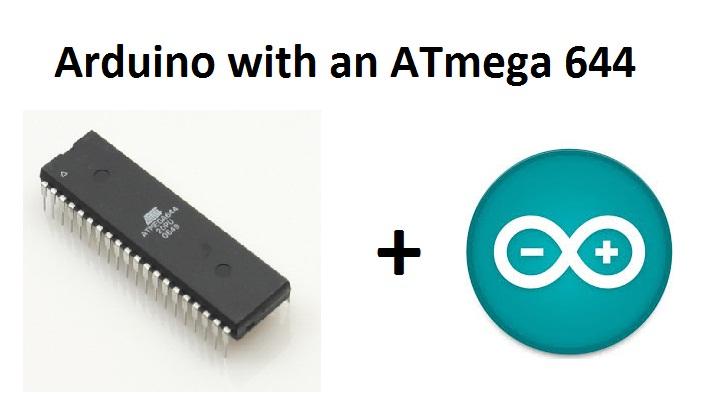 ATmega 644 Arduino/Evaluationboard