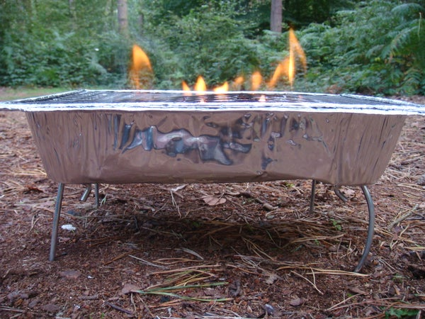Camping BBQ Stand