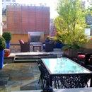 NYC Landscape Design - Park Ave Roof Garden