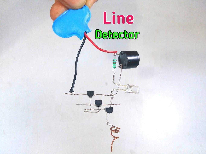 Voltage Detector Using BC547 Transistor