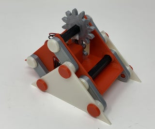 "A Simple 3D Printed ""Walking"" Mechanism."