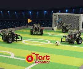 Orange Tart: Lego-compatible Soccer Robot for Fun and STEM