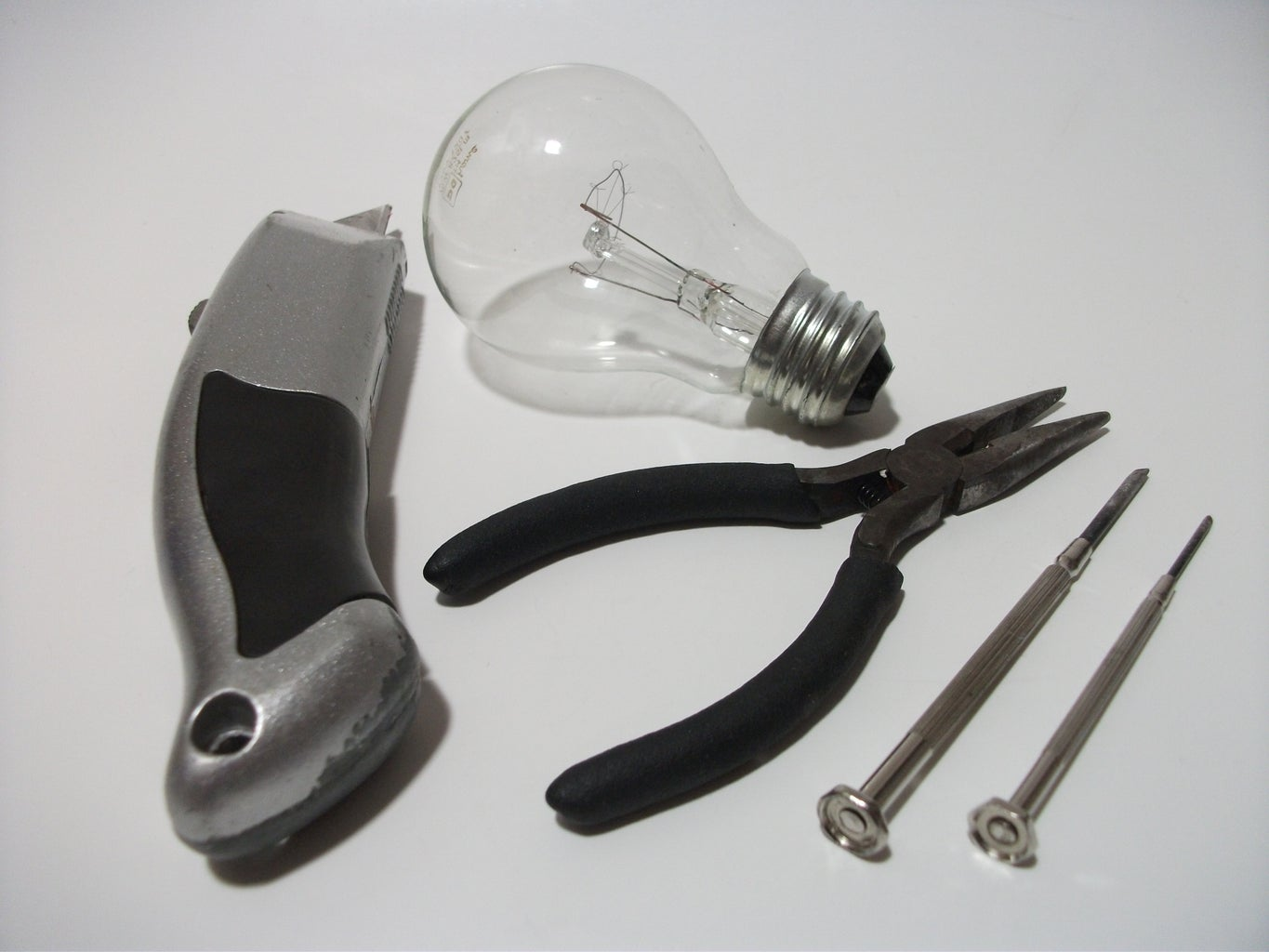 Hollowing Out a Lightbulb...