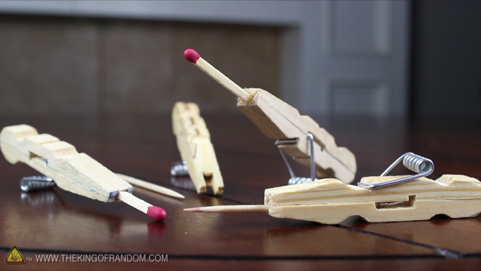 What Is a Mini Matchstick Gun?