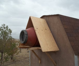 Coyote Proof Feral Cat Shelter