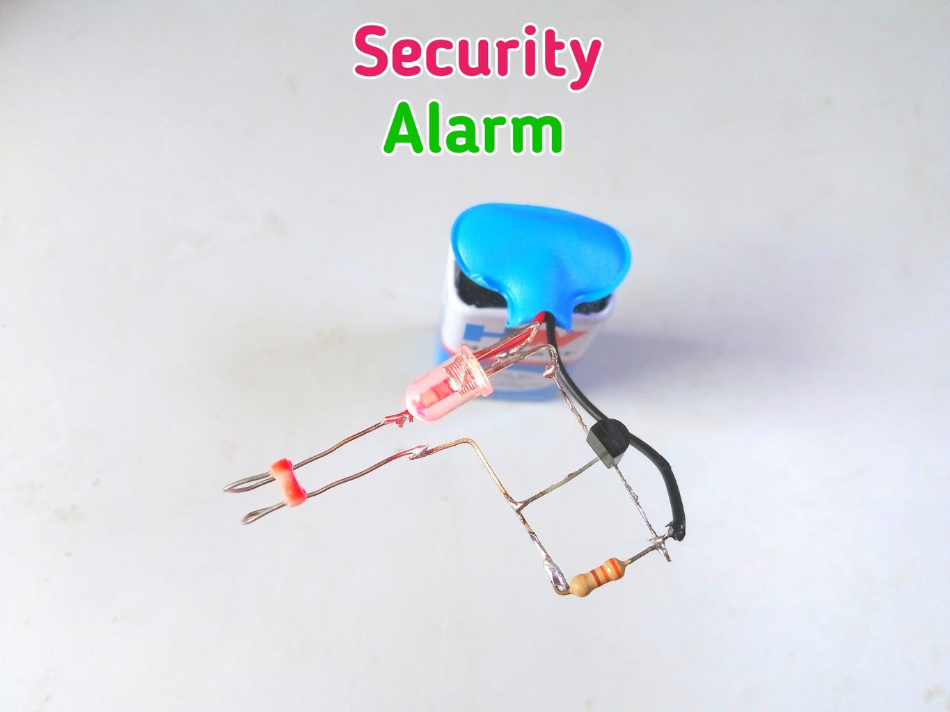 Security Alarm With LDR