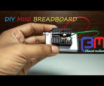 Diy Mini Breadboard