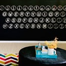 Make a Typewriter Keyboard Wall With Paper + Resin!