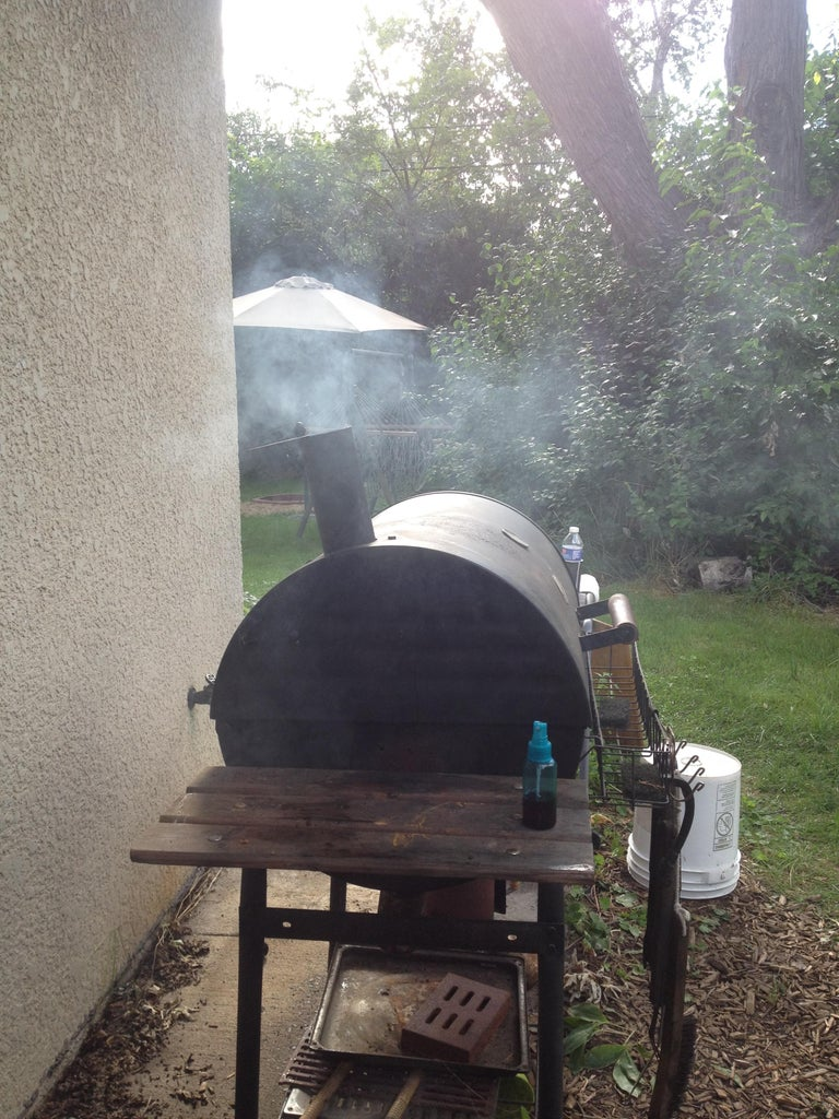 Add Chips and Smoke Away (but Wait an Hour or So First!)