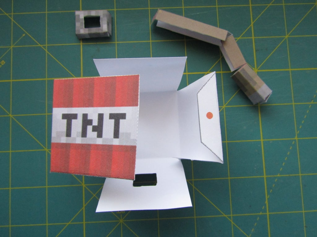 Paper Minecraft Automata 8 Steps With Pictures Instructables