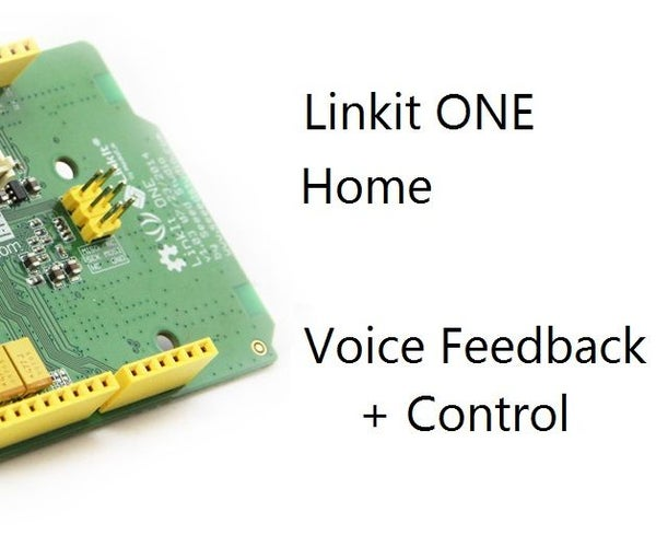 How To: Add Voice Feedback to Your Home Automation With Link It ONE!