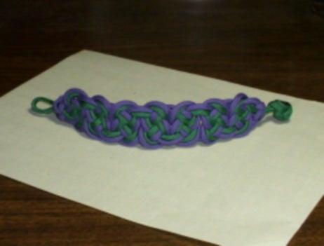 Paracord Eternity Knot Bracelet