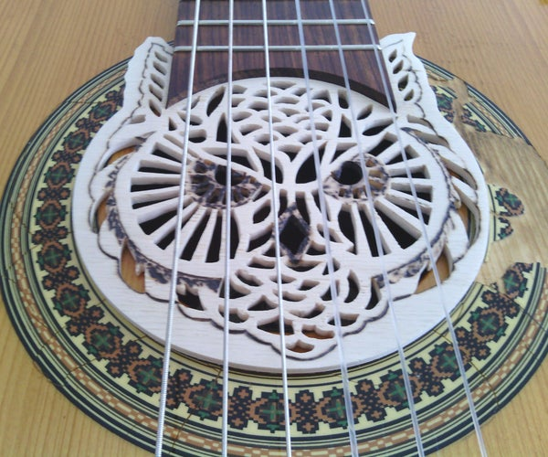 Owl Shaped Guitar Soundhole Cover
