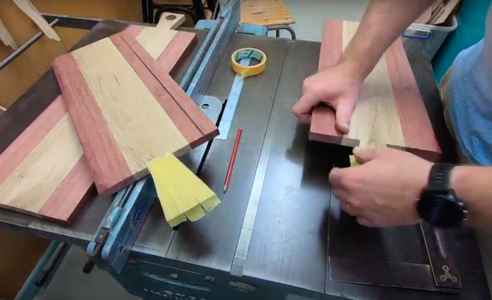 Drilling the Handle