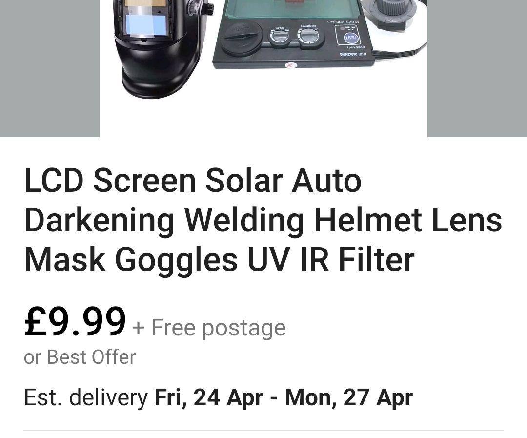 Welding Mask Mod