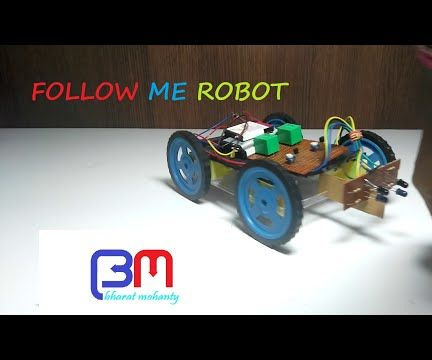 FOLLOW ME ROBOT