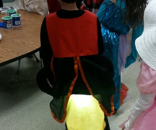 Halloween LED Firefly Costume