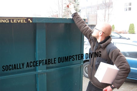 Material Acquisition: Dumpster Dive in the Day With Your Camera