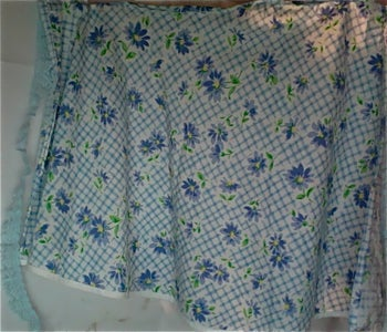 Girl's Apron's With Matching Coverings
