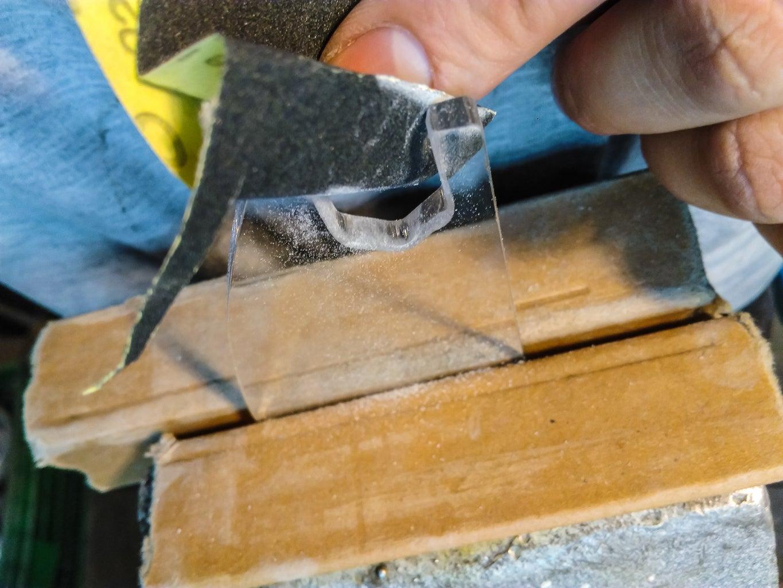 Prepare Plexiglass Parts