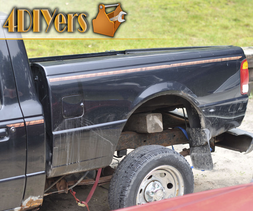How to Remove Rusted or Seized Truck Bed Bolts