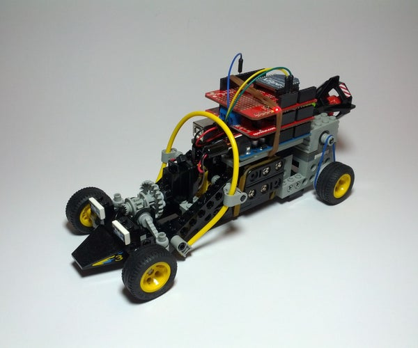 Lego Technic Car With Arduino + XBee Wireless Control