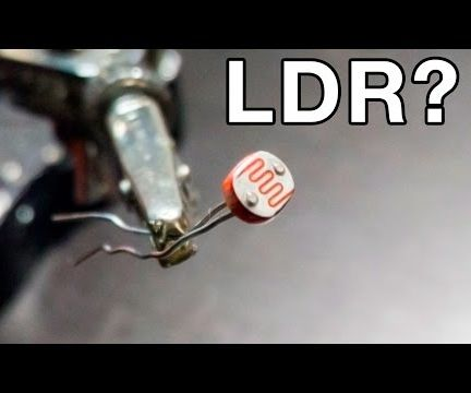 What is an LDR? (Light Dependant Resistor)