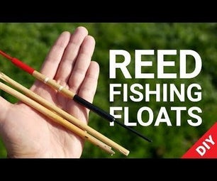 Handcrafted Reed Fishing Floats (Bobbers)