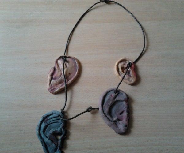 Daryl Dixon's Ear Necklace (Walking Dead)