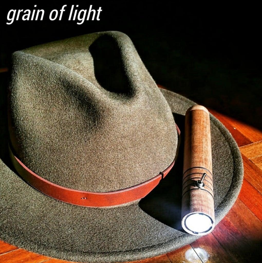 Wooden LED Flashlight