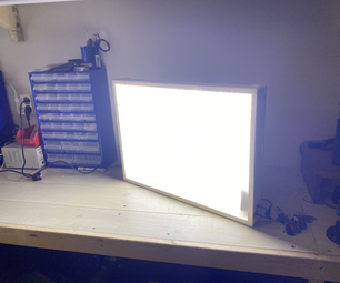 Dimmable LED Panel/softbox for Photography or Filming