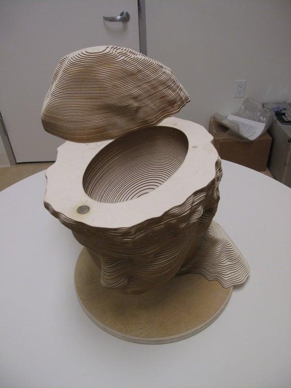 Making a Cardboard Head With a Secret Hiding Spot