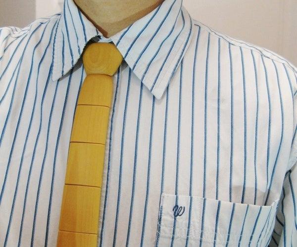 Wooden Necktie (and Bowtie)