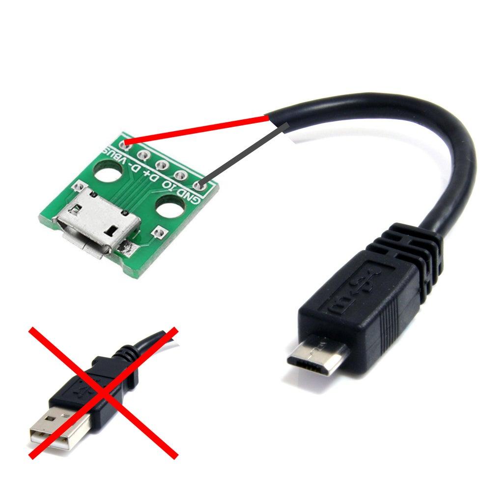 Micro USB Power Extension