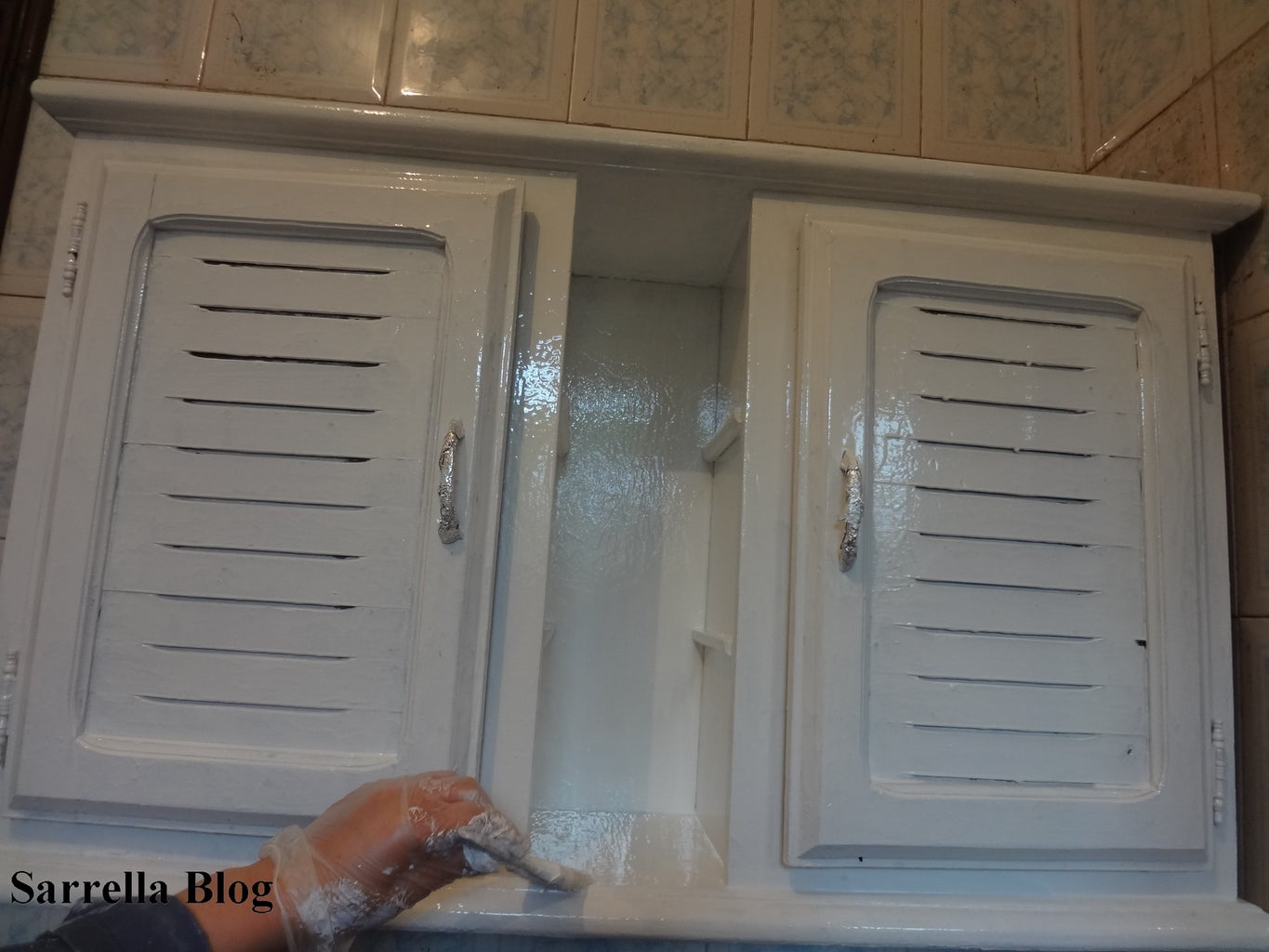 Painting the Cabinet