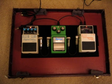 How to Make a Pedal Board Out of an Old Briefcase